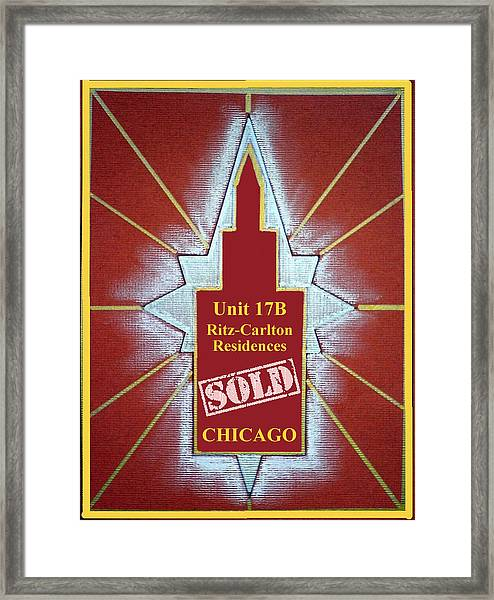 Ritz Carlton Sold Framed Print