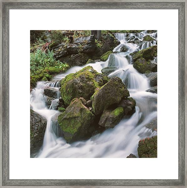 Rock Island Framed Print
