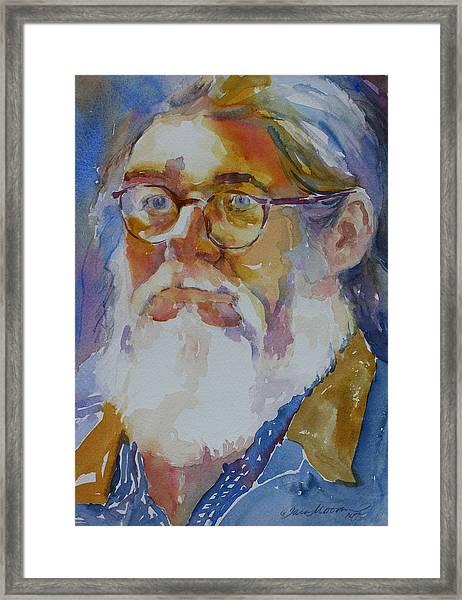 Roger Framed Print