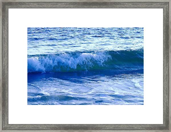 Rolling Surf Framed Print