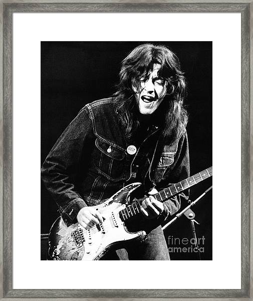 Rory Gallagher 1971 Framed Print