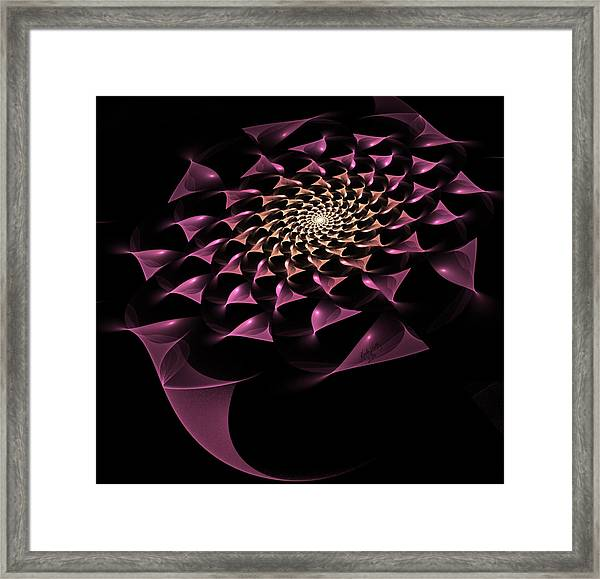 Rose Gold Framed Print