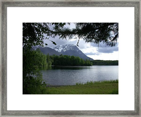 Ross Lake Framed Print