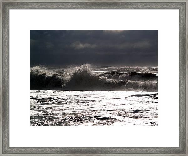 Rough Waves 2 Framed Print