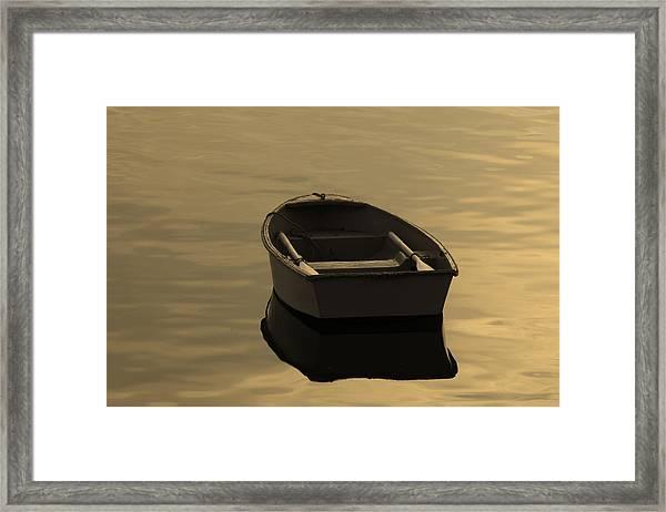 Rowboat Framed Print