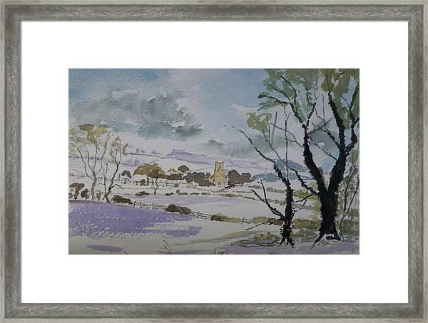 Rural Parish Framed Print