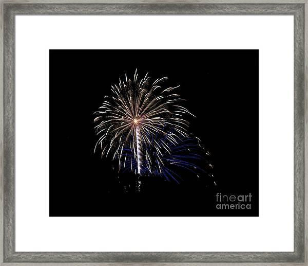 Rvr Fireworks 115 Framed Print