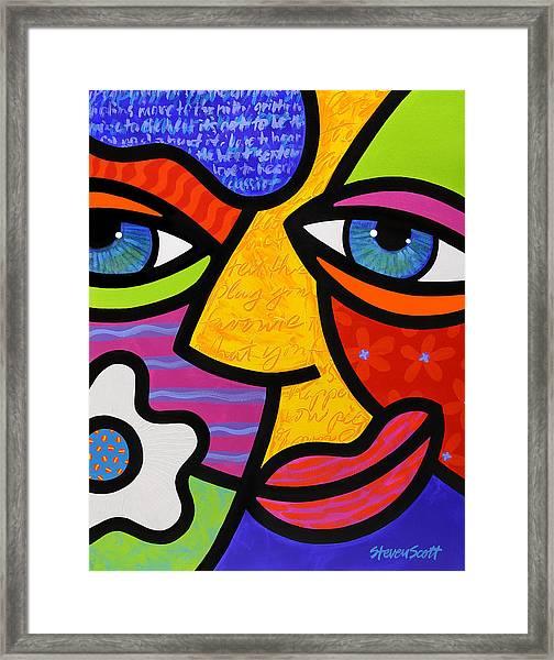Sabrina Starr Framed Print