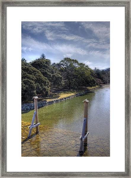 Sacred River Framed Print