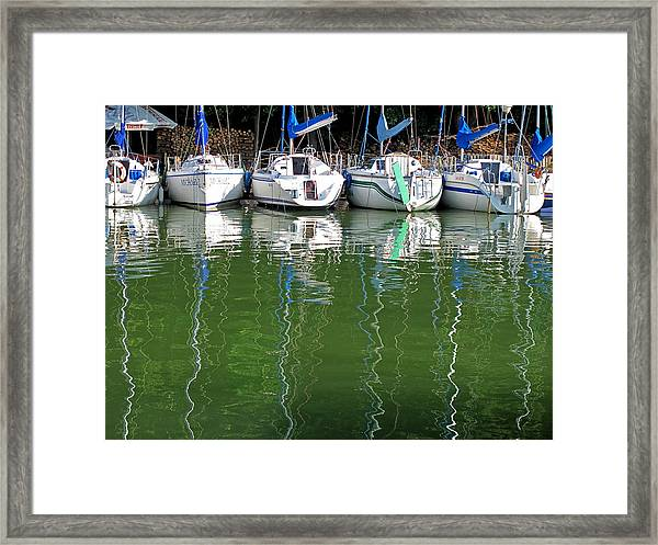 Sailing... Framed Print