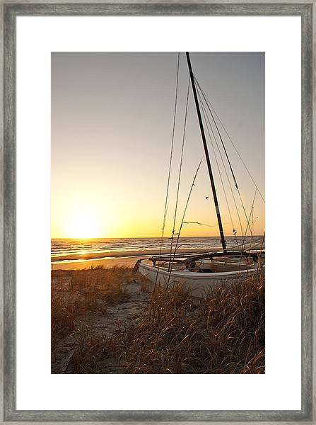 Framed Print featuring the photograph Sailors Delight by Francis Trudeau