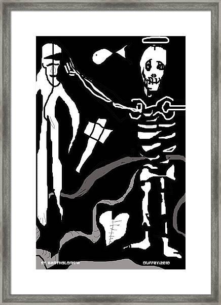 Saint Bartholomew Framed Print