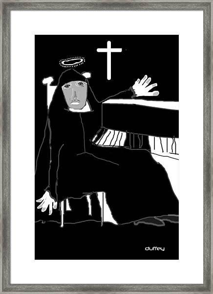 Saint Cecelia Framed Print