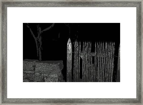 Salem Noir I Framed Print