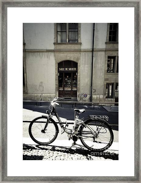 Salle De Societe  Framed Print
