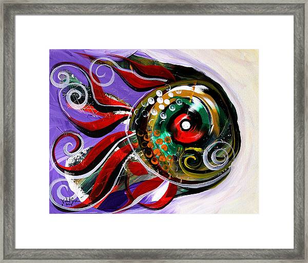 Salvador Dali Octo Fish Framed Print