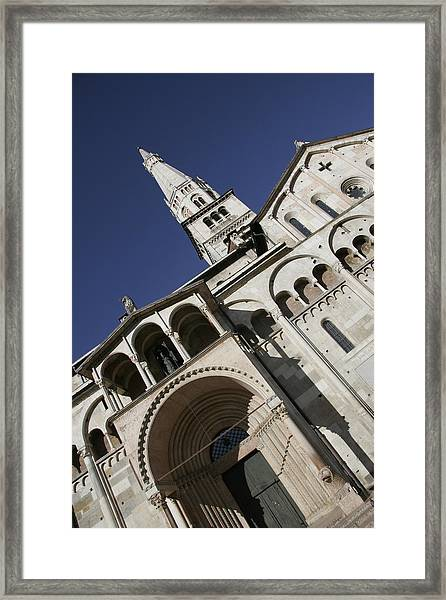San Geminiano Cathedral Of Modena Framed Print