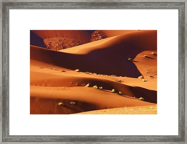 Sand Mountains Framed Print