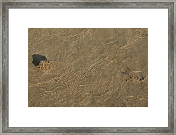 Sand Sculpture Framed Print