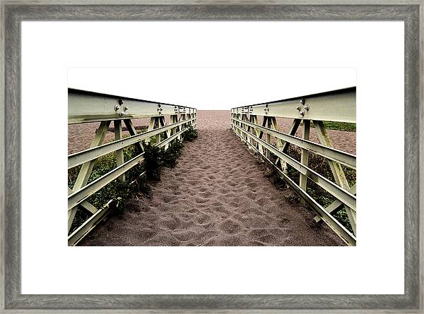 Sandy Bridge - Color Framed Print