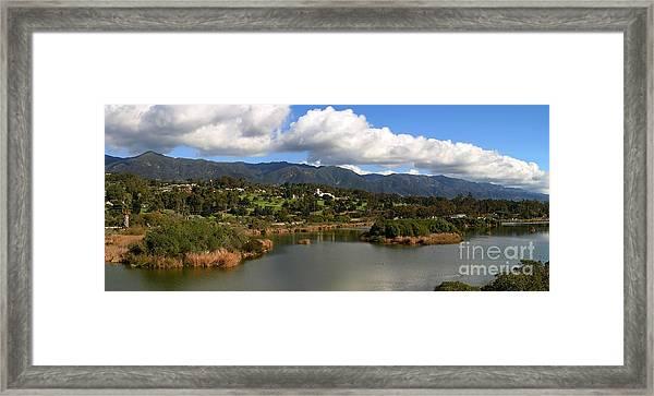 Santa Barbara Framed Print