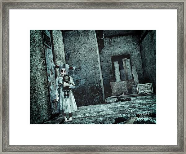 Scary Place Framed Print
