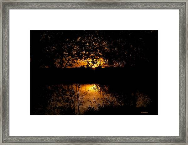 Scary Sunset Framed Print