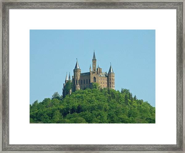 Schloss Hohenzollern Germany Framed Print