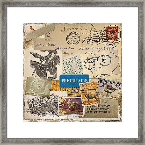 Scrapbook Page Number 2 Framed Print