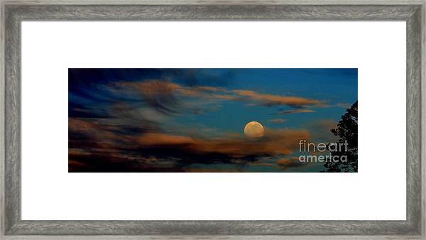 Second Full Moon 2012 Framed Print