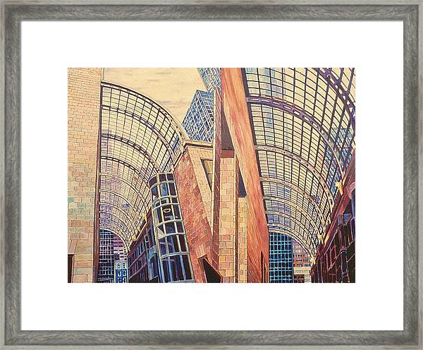 Second In Att Series Framed Print