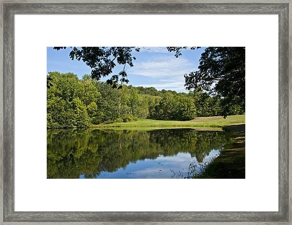 Secret Fishing Hole Framed Print