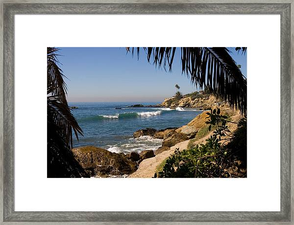 Secret View Framed Print