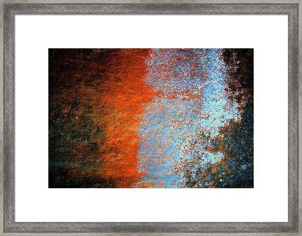 Sedona Red Rock Zen 51 Framed Print