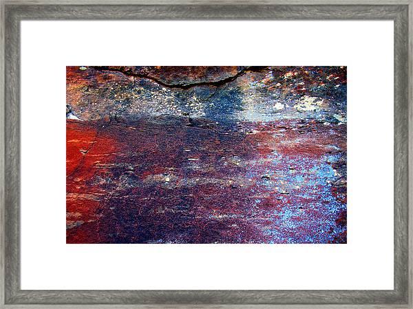 Sedona Red Rock Zen 53 Framed Print