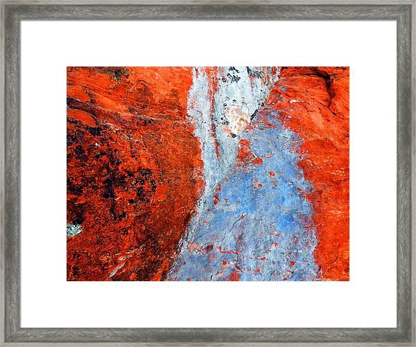 Sedona Red Rock Zen 70 Framed Print