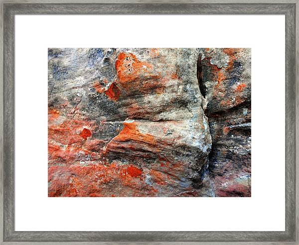 Sedona Red Rock Zen 73 Framed Print