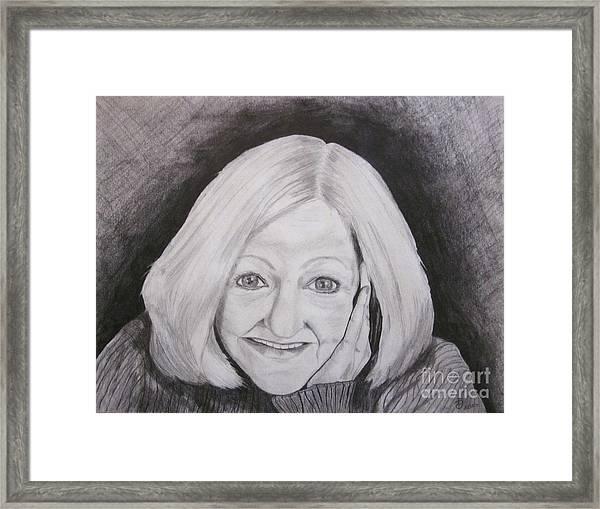 Self-portrait Paje Framed Print