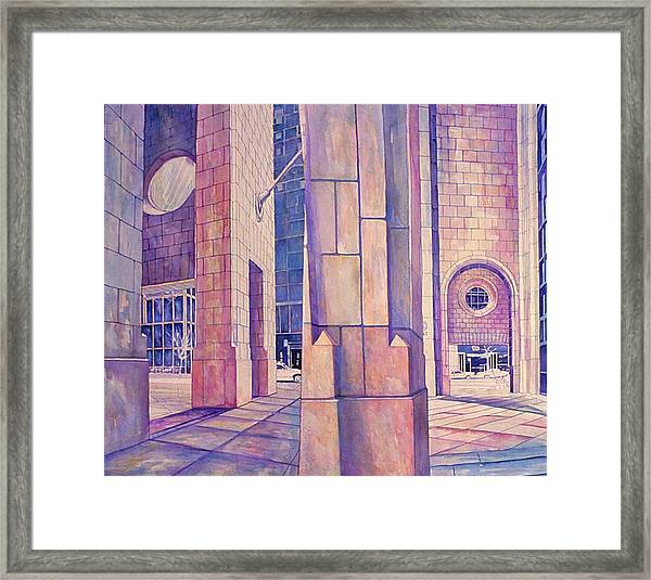 Seventh In Att Series Framed Print