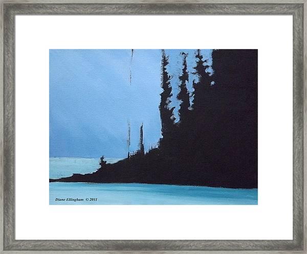 Shadow Island Framed Print