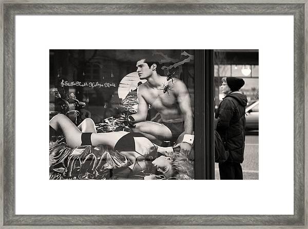 Shame On You Two...stockholm Framed Print