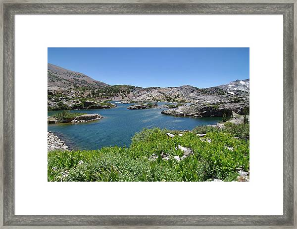 Shamrock Lake By Frank Lee Hawkins Framed Print