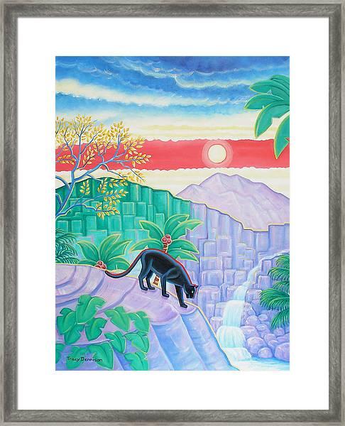 Shangra-la Framed Print