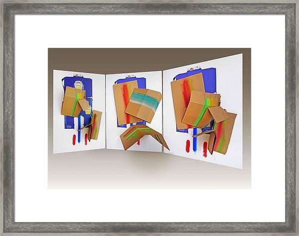 Shock Troops Framed Print