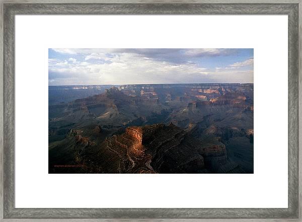 Shoshone Point Grand Canyon Arizona Framed Print