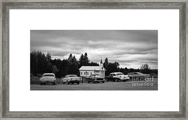 Shotgun Weddin' 2 Framed Print