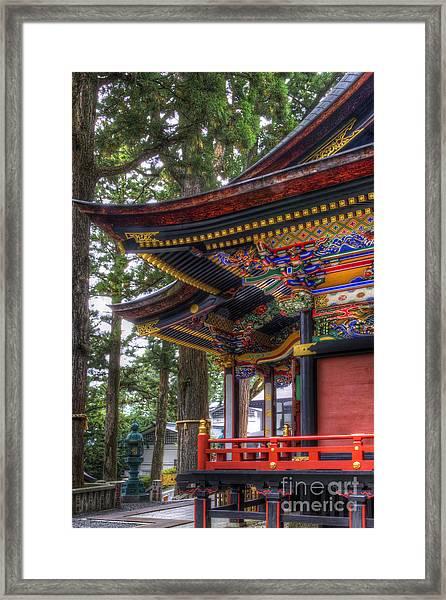 Shrine-4 Framed Print
