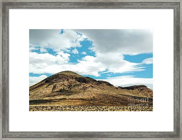 Sierra Nevadas Framed Print by HD Connelly