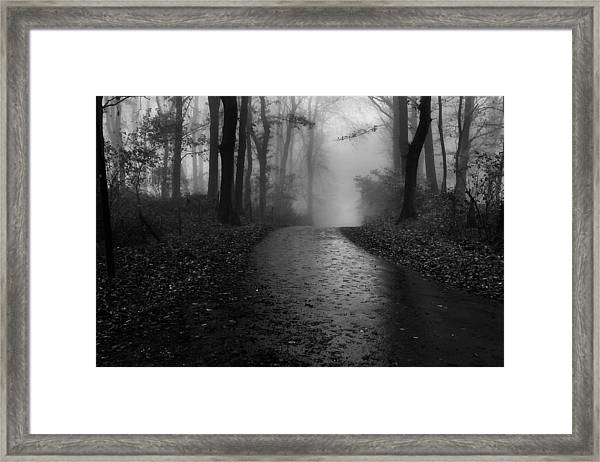 Silhouttes Framed Print