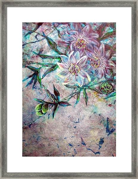 Silver Passions Framed Print